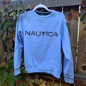 •carolina blue nautica crewneck•